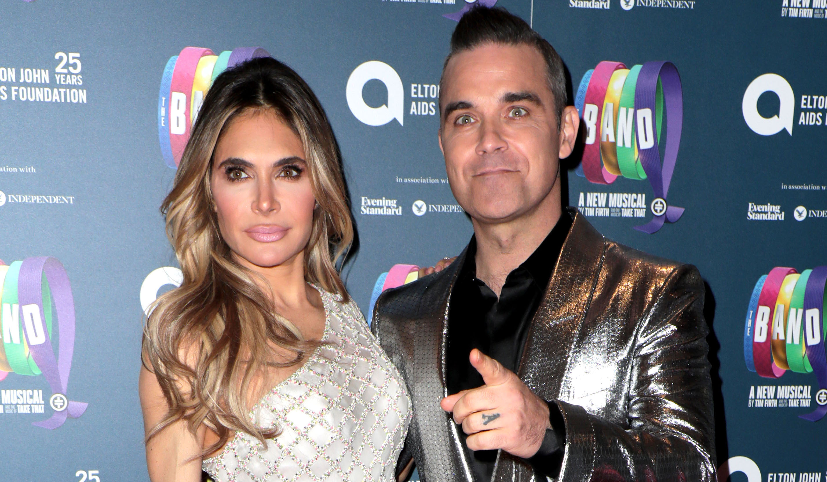 Robbie Williams and Ayda Field 'quit X Factor over salary demands'