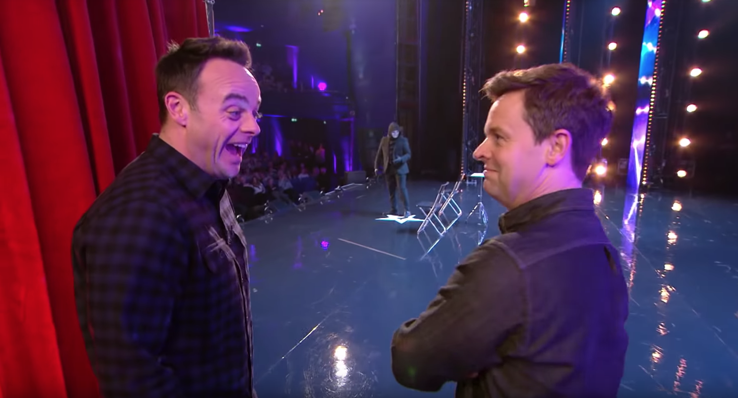 Declan Donnelly shocked by Ant McPartlin's Britain's Got Talent joke about his wife