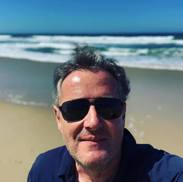 Piers Morgan in California