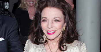Dame Joan Collins and her husband Percy were sen leaving dinner at 'Craigs' Restaurant in West Hollywood, CA Pictured: Percy Gibson,Joan Collins Ref: SPL5074218 230319 NON-EXCLUSIVE Picture by: SPW / SplashNews.com Splash News and Pictures Los Angeles: 310-821-2666 New York: 212-619-2666 London: 0207 644 7656 Milan: 02 4399 8577 photodesk@splashnews.com World Rights