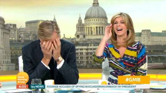 Richard Madeley leaves GMB co-stars in hysterics as he swears again