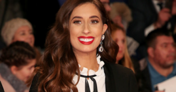 Celebrities attend the The National Television Awards 2019, held at the 02 Arena in London Pictured: Stacey Solomon Ref: SPL5057772 220119 NON-EXCLUSIVE Picture by: Brett D. Cove / SplashNews.com Splash News and Pictures Los Angeles: 310-821-2666 New York: 212-619-2666 London: 0207 644 7656 Milan: 02 4399 8577 photodesk@splashnews.com World Rights