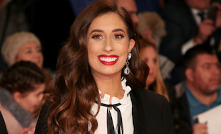 "Stacey Solomon reveals her baby bump is ""covered in fur"""