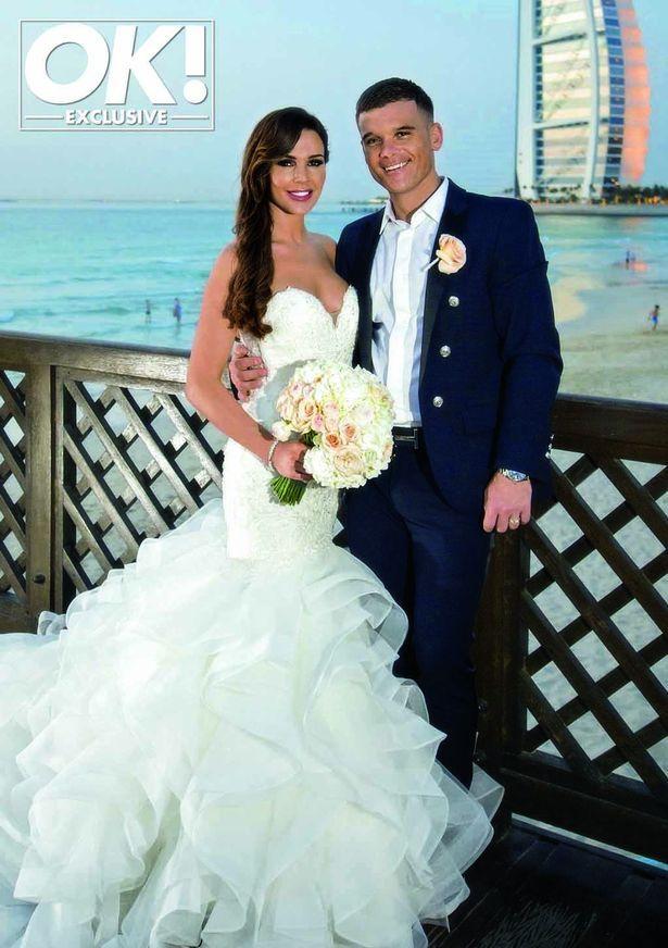 Danielle Lloyd wedding dress