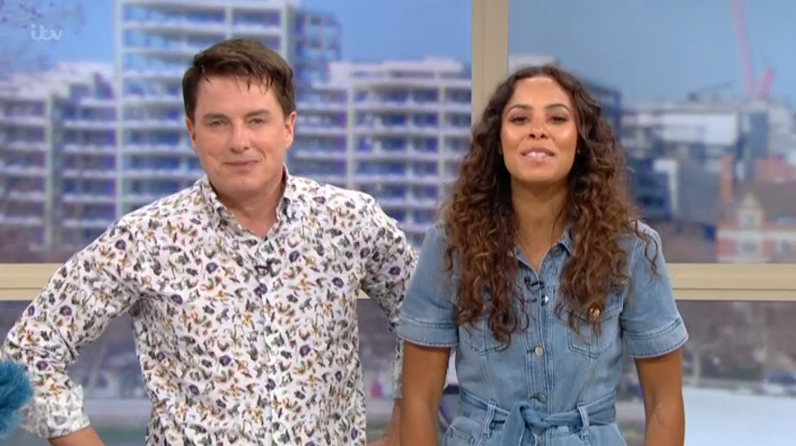 This Morning viewers divided over John Barrowman and Rochelle Humes