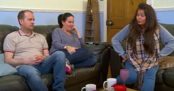 Gogglebox - Scarlett Moffatt and her family