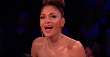 Nicole Scherzinger (Credit: The X Factor UK YouTube)
