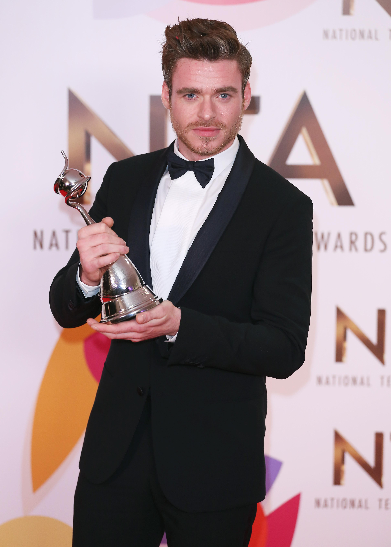 Richard Madden at The National Television Awards 2019