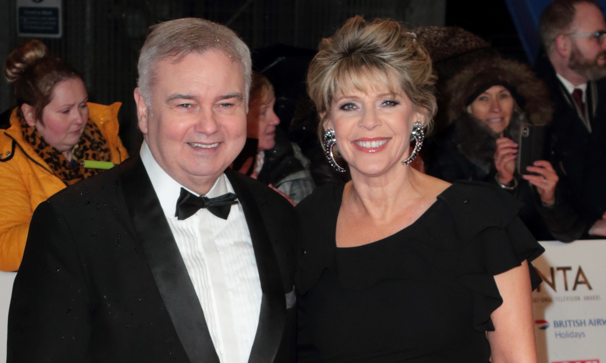 Eamonn Holmes pays tribute Ruth Langsford's late sister on wedding anniversary