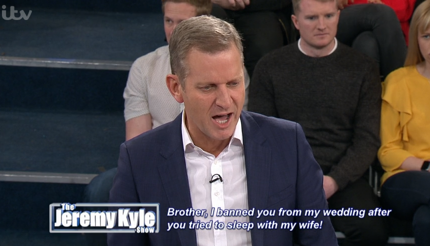Jeremy Kyle left speechless as guest insults him in foul-mouthed rant