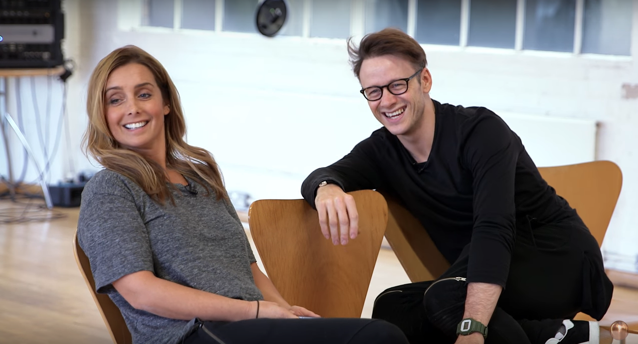 Louise Redknapp and Kevin Clifton (Credit: Strictly Come Dancing YouTube)