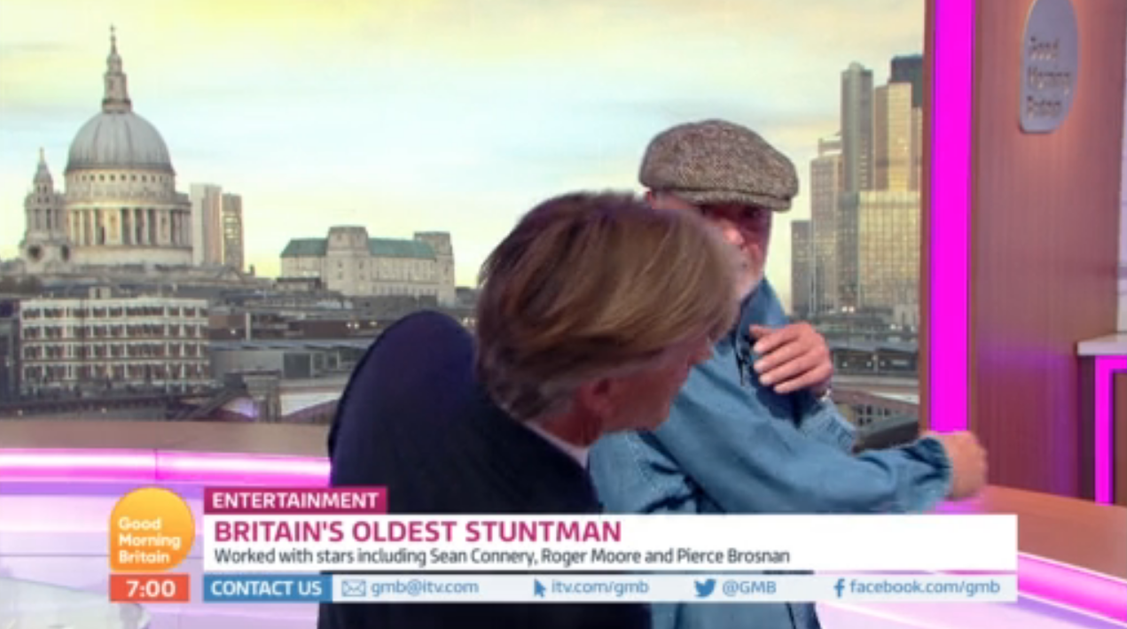 Viewers rejoice as Richard Madeley gets 'punched' on Good Morning Britain