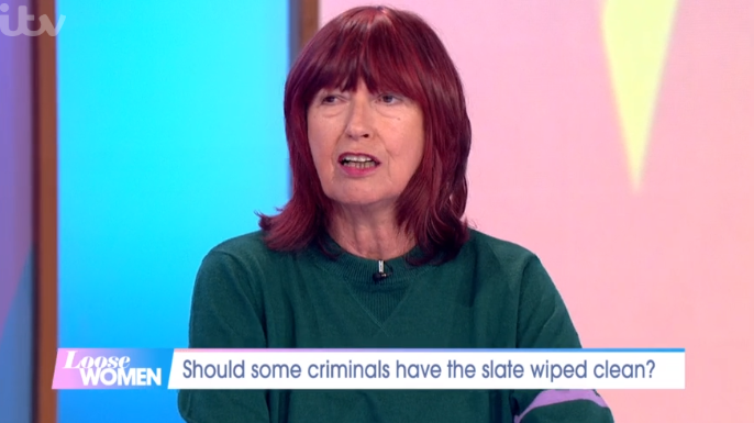 Janet Street Porter recalls moment she was taken to court after police raided her home and found cannabis