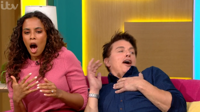 This Morning viewers in hysterics as John Barrowman 'almost wets his pants' over prank
