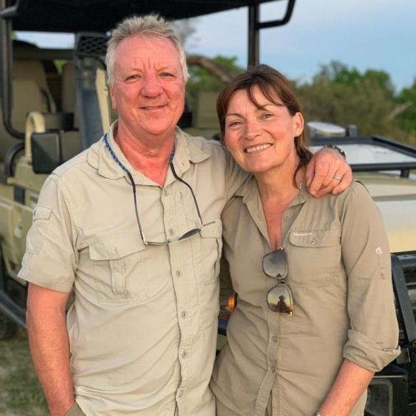 Lorraine Kelly and husband Steve