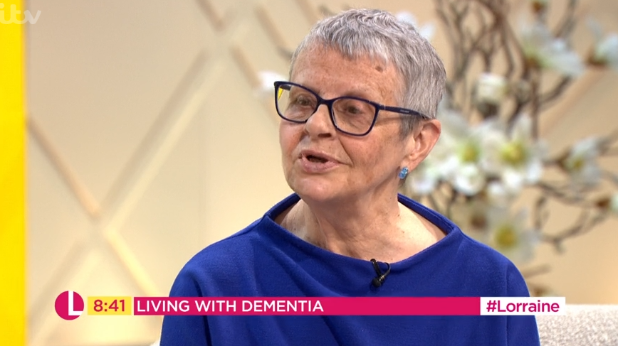 Dementia patient tells Christine Lampard she won't remember interview tomorrow