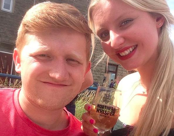 Sam Aston and Briony Gardiner Instagram SamAston93