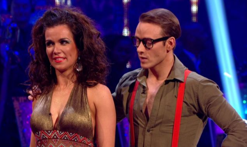 Susanna Reid and Kevin Clifton on SCD