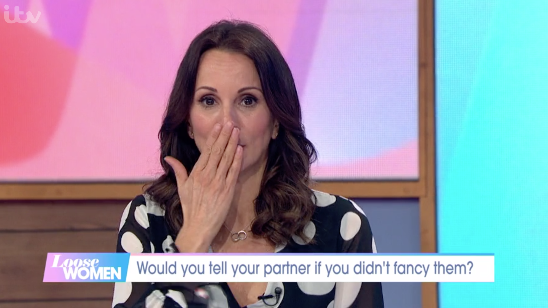 Andrea McLean accidentally swears on Loose Women