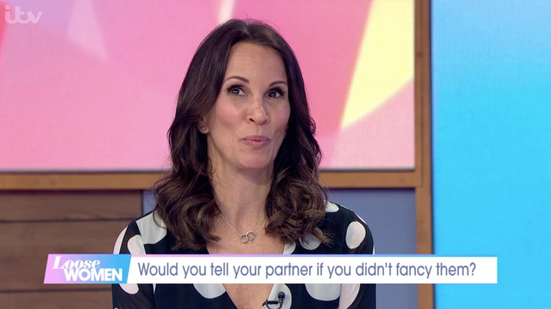 Andrea McLean Loose Women ITV