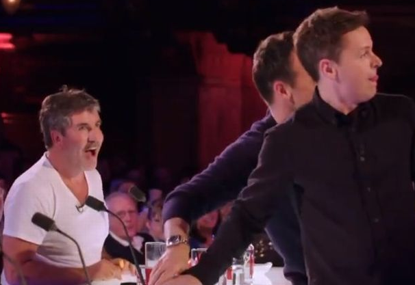 Ant and Dec hit the golden buzzer for Britain's Got Talent act