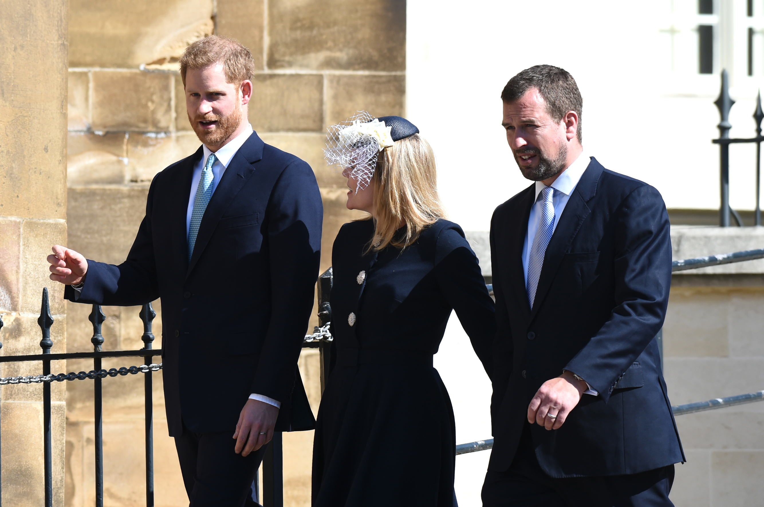 Prince William wants Harry, Meghan 'as far away as possible'