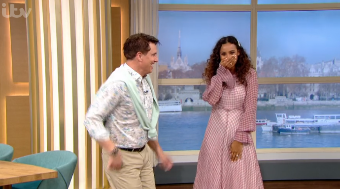 John and Rochelle on This Morning