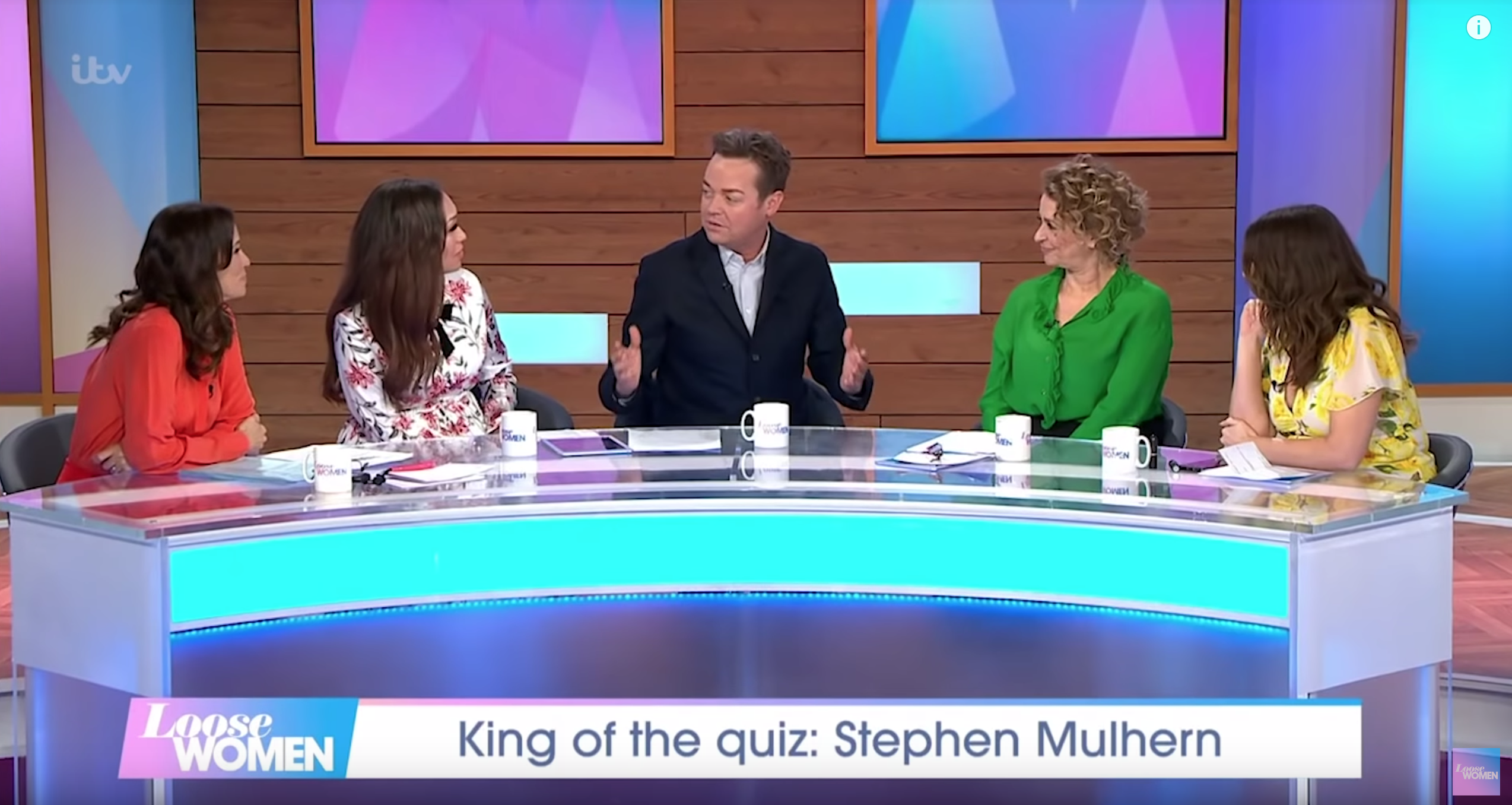 Stephen Mulhern Loose Women ITV