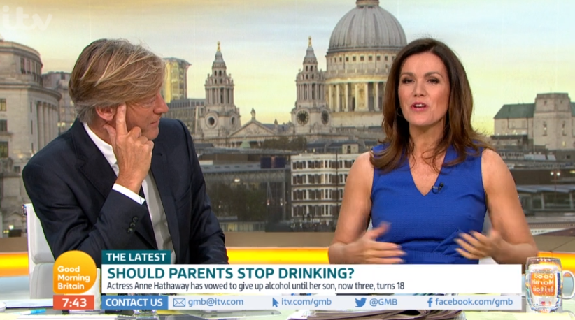 Richard Madeley and Susanna Reid