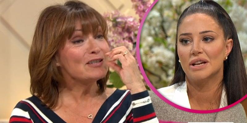 "Lorraine Kelly mocks Tulisa for having ""daft"" cosmetic surgery"