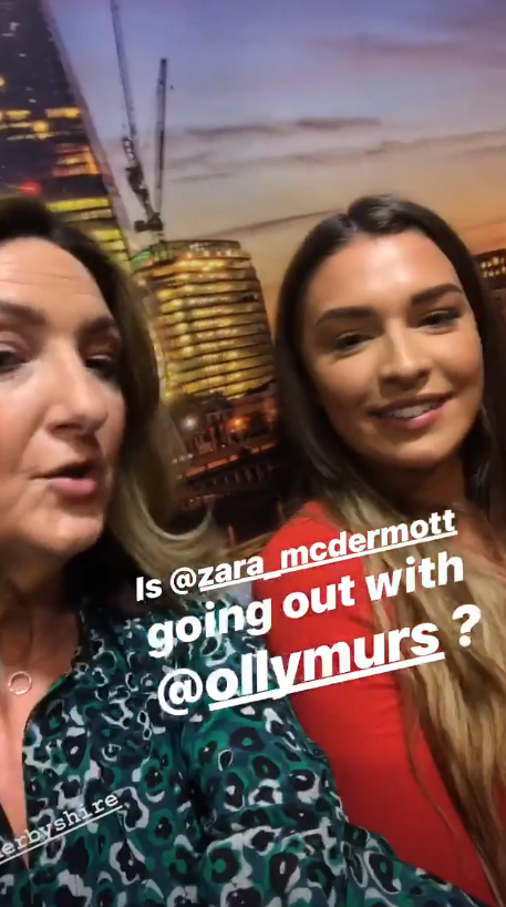 Victoria Derbyshire and Zara McDernott