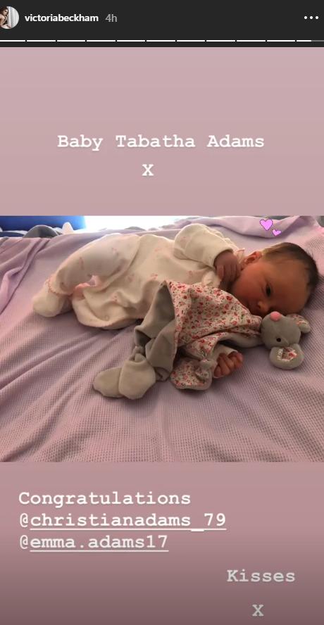 VB's new niece
