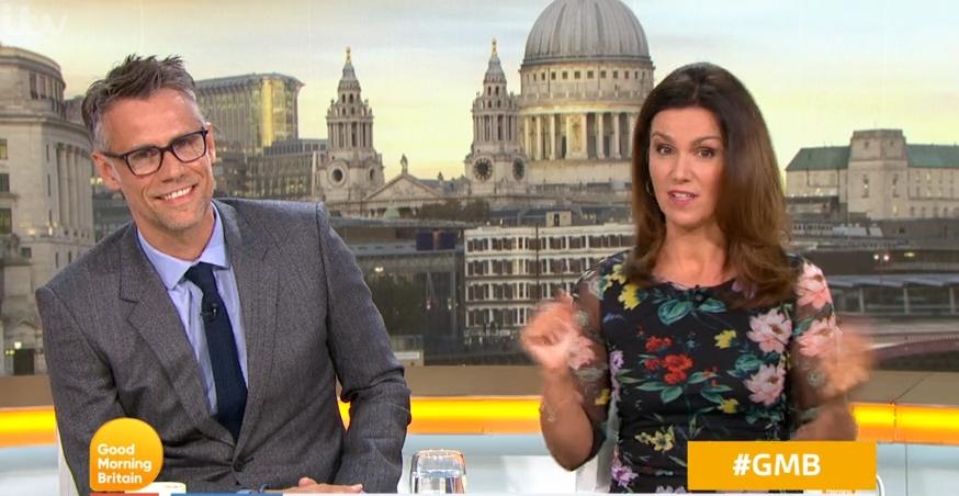 Richard Bacon susanna Reid GMb Credit: ITV