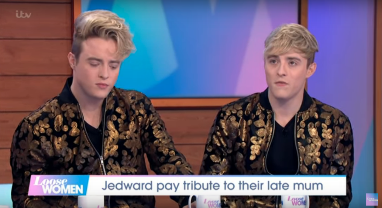 Jedward open up about their grief following devastating loss of their mum