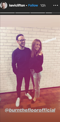 (Credit: Instagram @keviclifton)