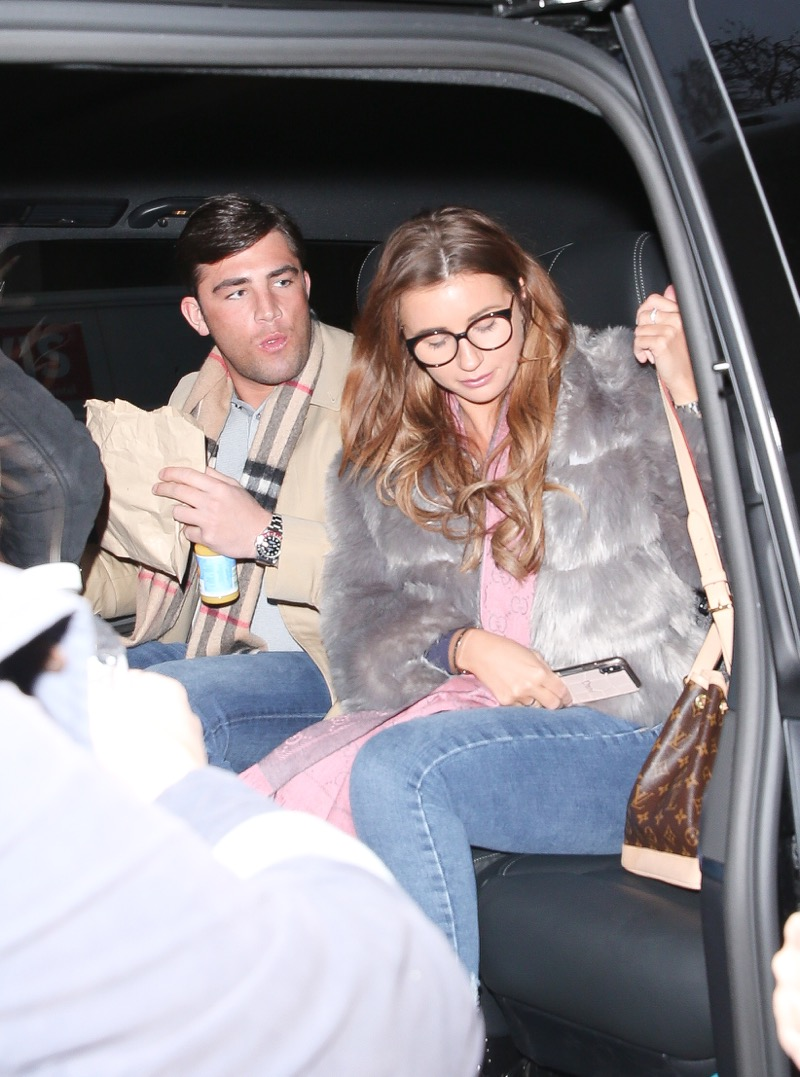 Dani Dyer And Jack Fincham (Credit: SplashNews.com)