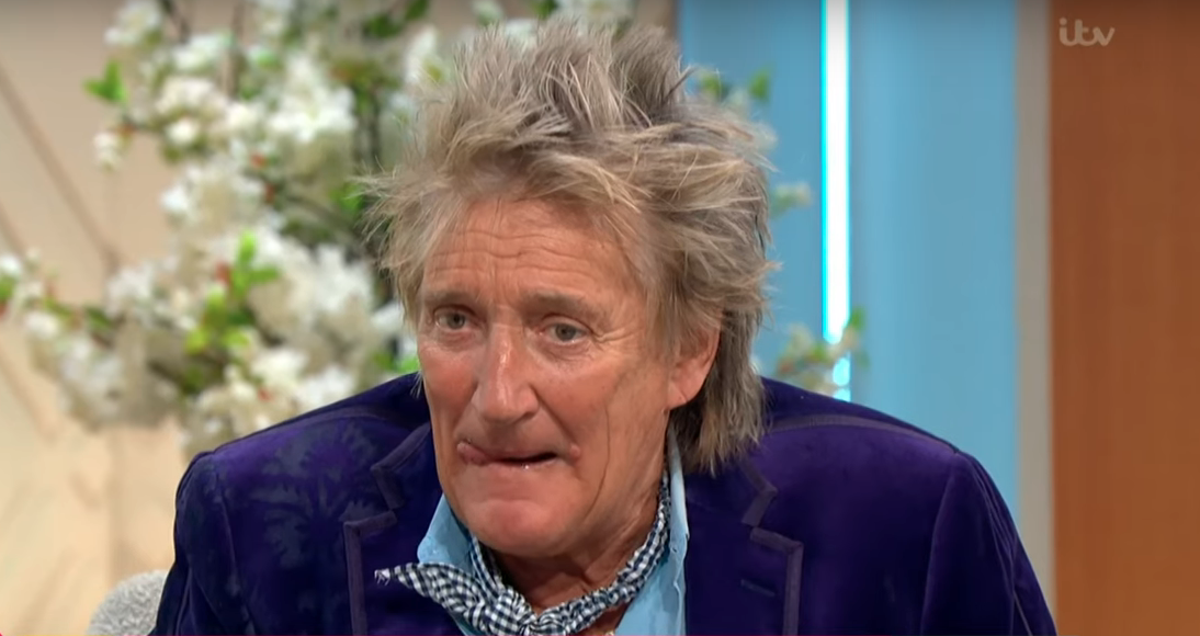 Rod Stewart gives his reaction to joining The X Factor as a judge