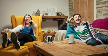 Gogglebox Sophie Sandiford and Pete Sandiford (Channel 4)