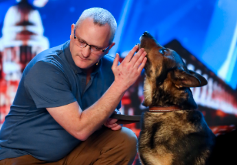 Viewers destroyed by policeman Dave and his dog Finn on Britain's Got Talent