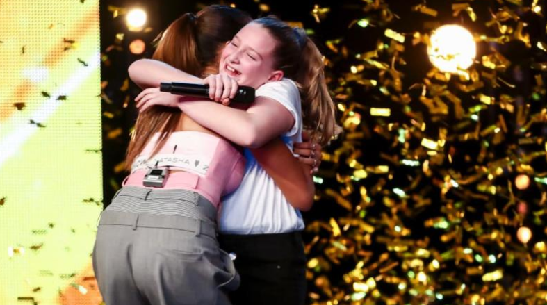 Alesha Dixon hits the BGT golden buzzer for 10-year-old singer Giorgia Borg