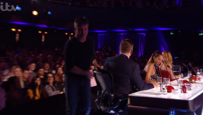 Simon Cowell storms off BGT as audience turn against him over act