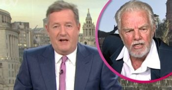 Piers Morgan and GMB guest split pic