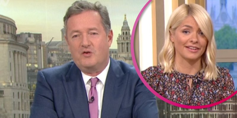 Piers Morgan BLASTS Holly Willoughby on his GMB return