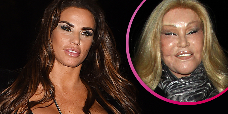Katie Price compared to the bride of Wildenstein following face surgery