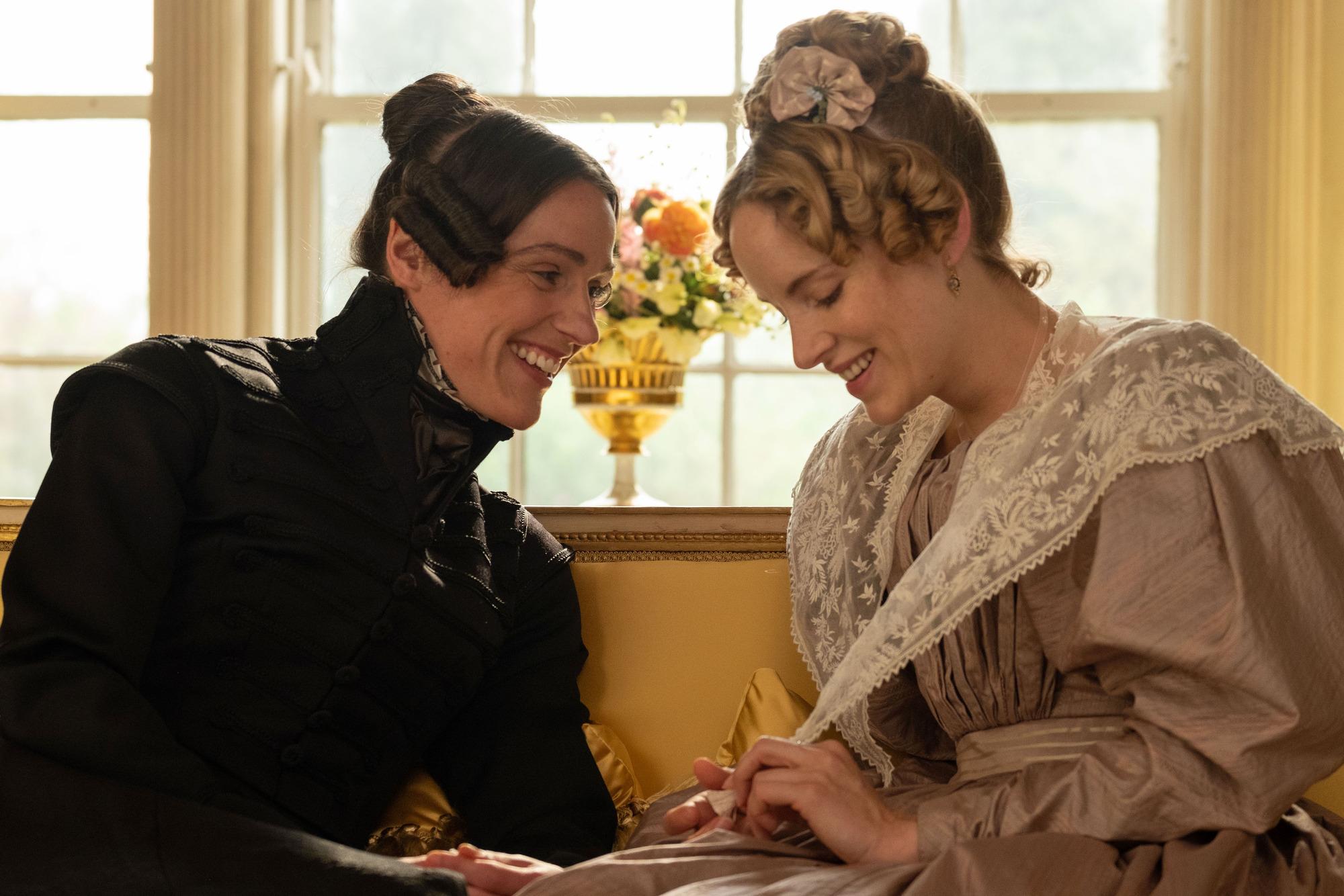 Ex Corrie star Suranne Jones denies BBC drama lesbian scenes are 'gratuitous'