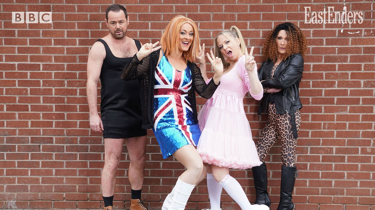 Carter family Spice Girls EastEnders Twitter