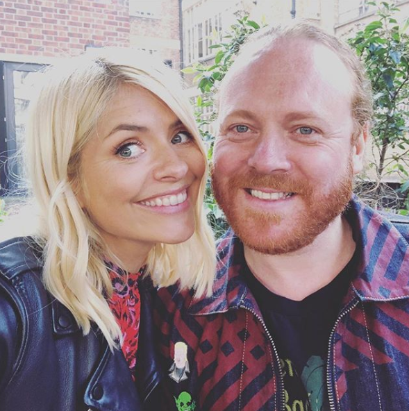 Holly Wills and Keith Lemon