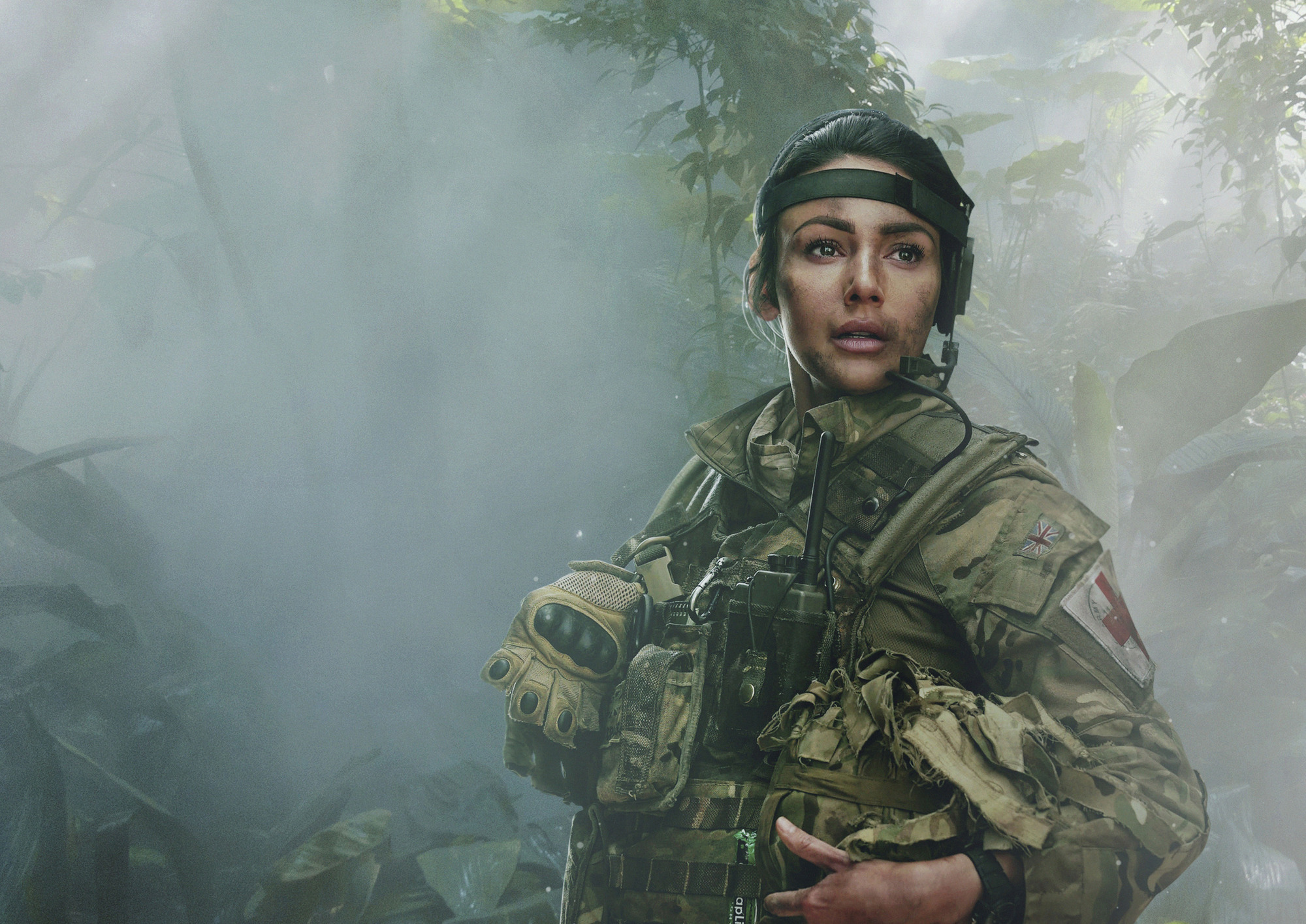 Michelle Keegan confirms she's finished filming Our Girl with behind-the-scenes photo