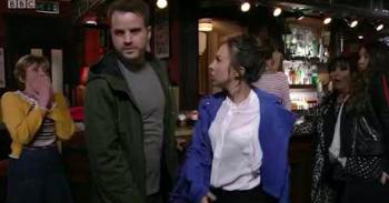 Ruby slaps Sean EastEnders