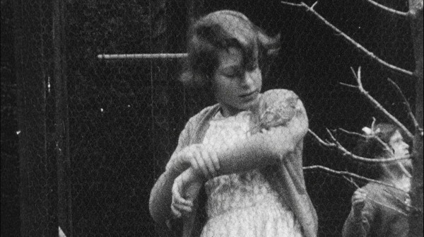 A still image taken from rare archive footage shows The Queen as a young girl (HM The Queen)